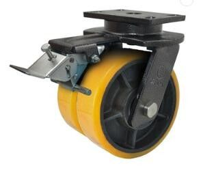 AGV Driving Forklift Caster Wheels / Fork Truck Wheels OEM Available